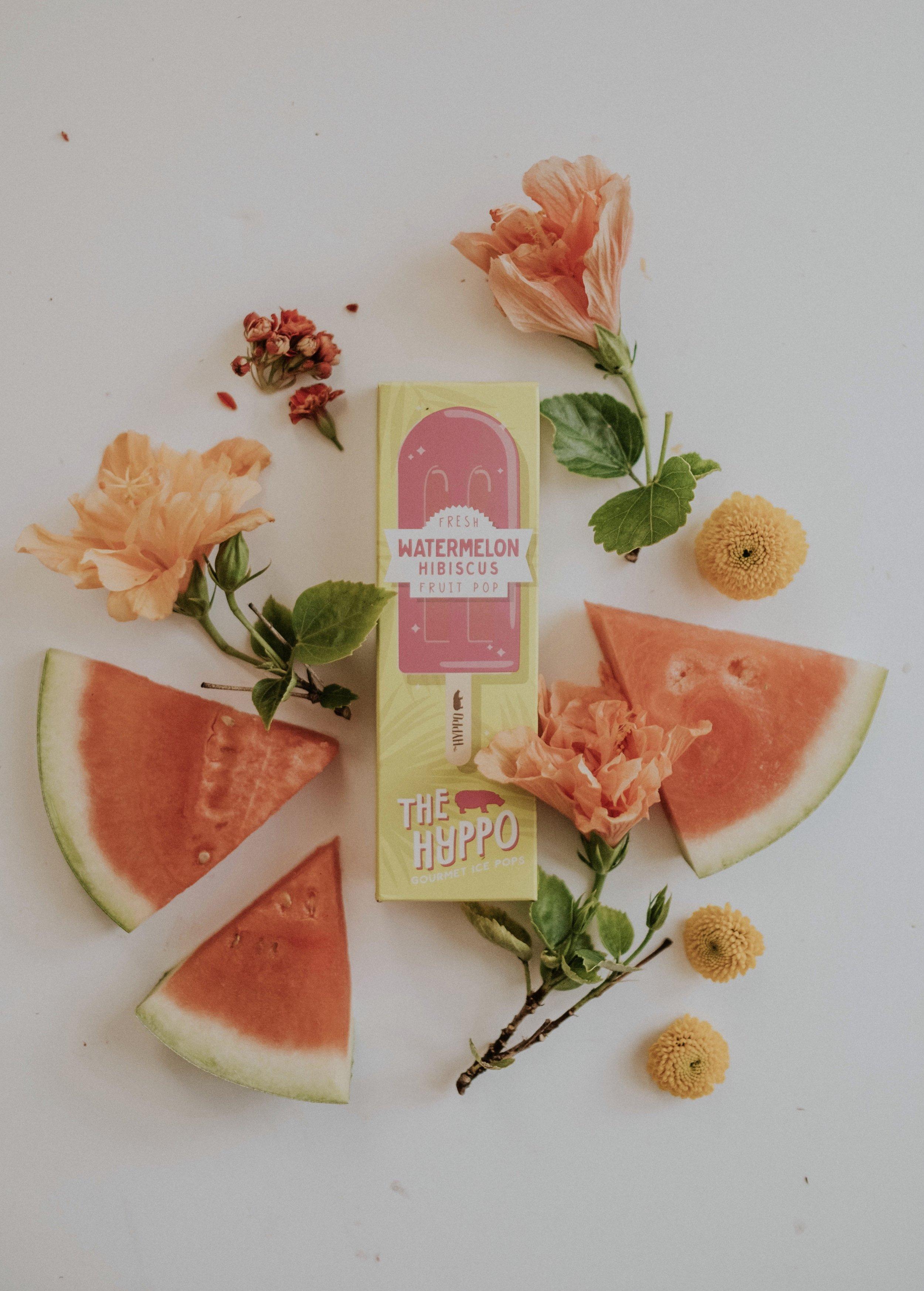 Watermelon Hibiscus Fruit Pop: a super refreshing summertime pop