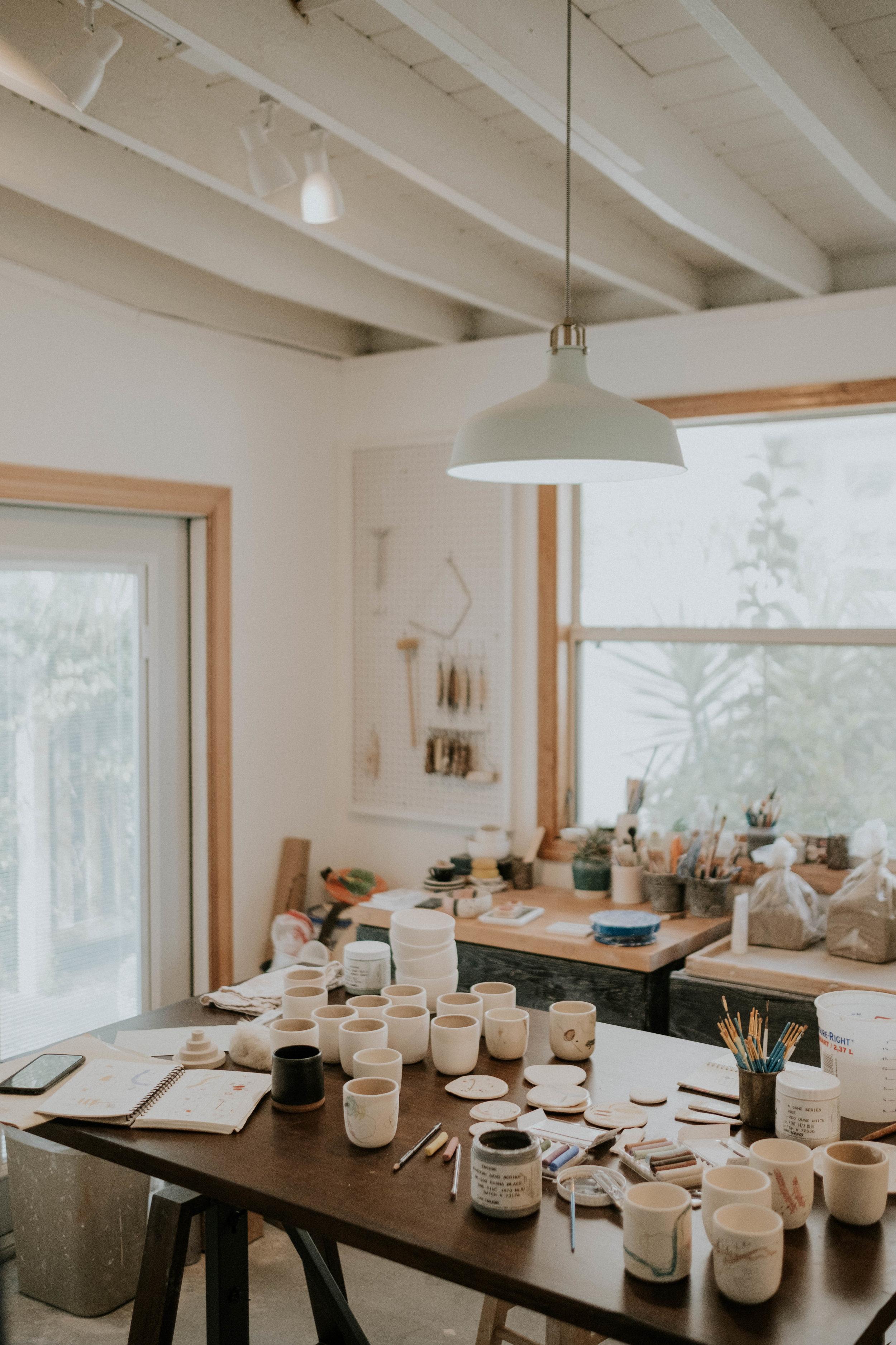 A look at Lauren Ytterbom's studio