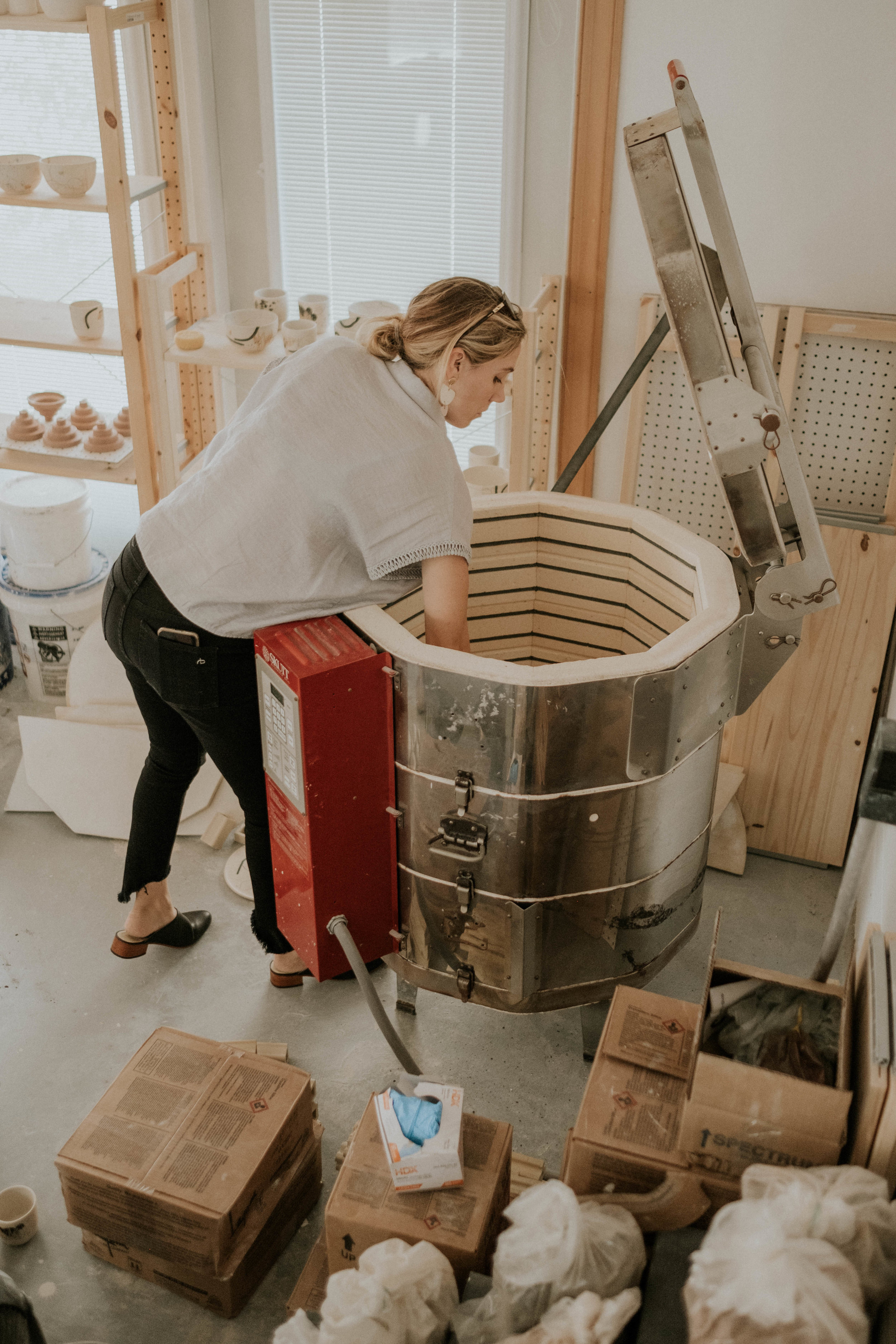 We knew this process would lead to some potential surprises in the finished products - as firing ceramics is often one big well-calculated experiment.