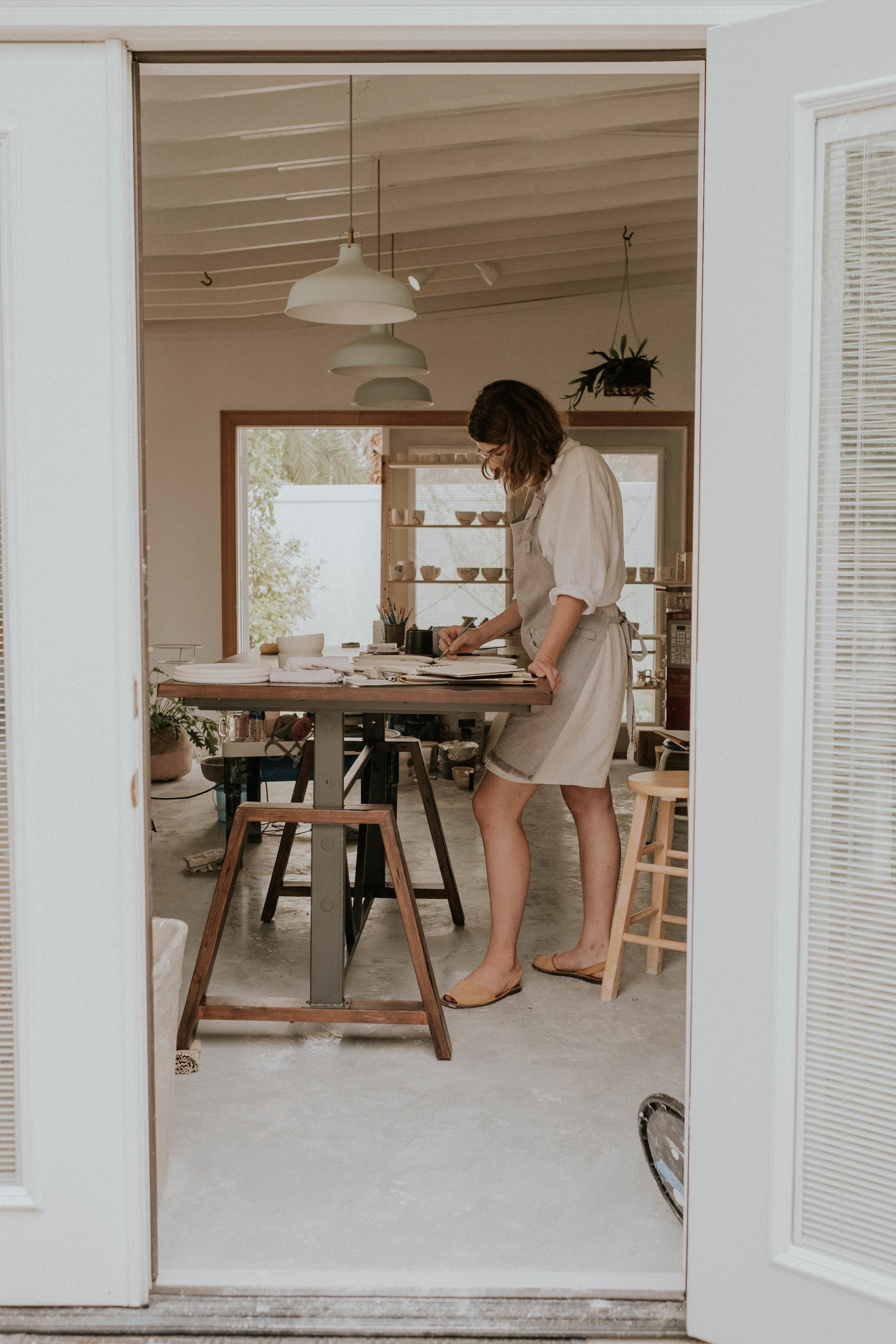 Another perspective of Lauren's stunning studio