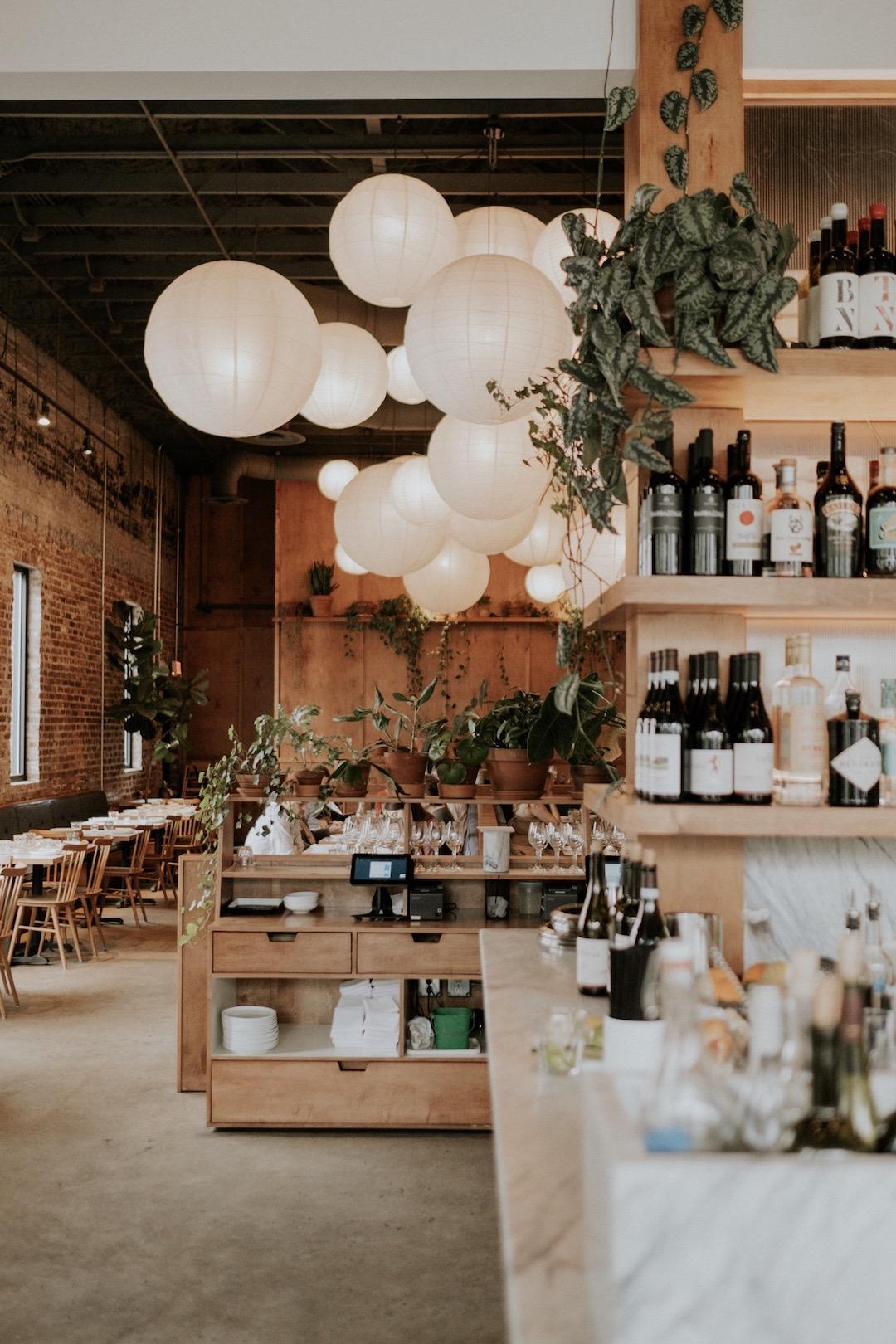 FOLK restaurant interior