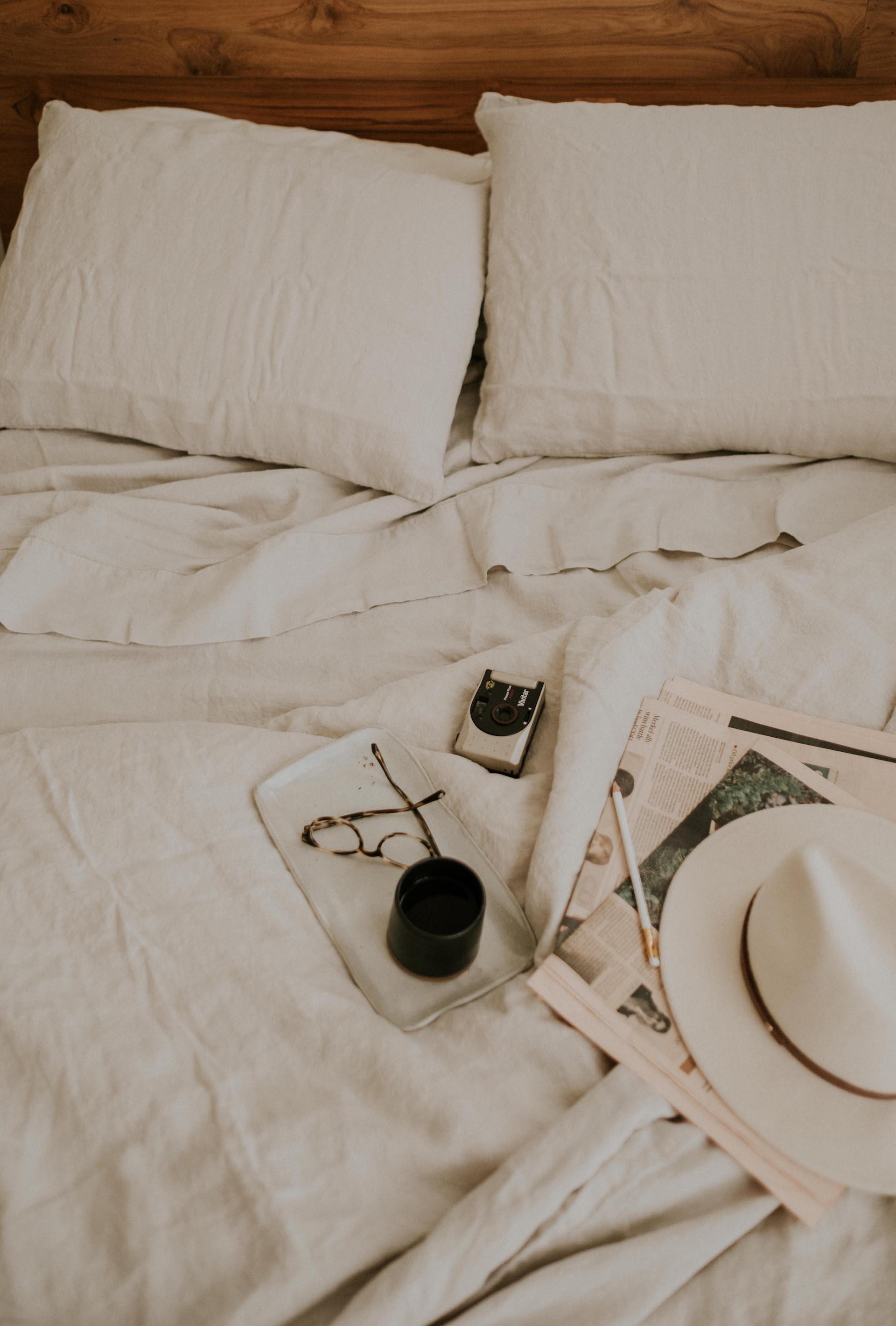 Linen Bedding:  Parachute