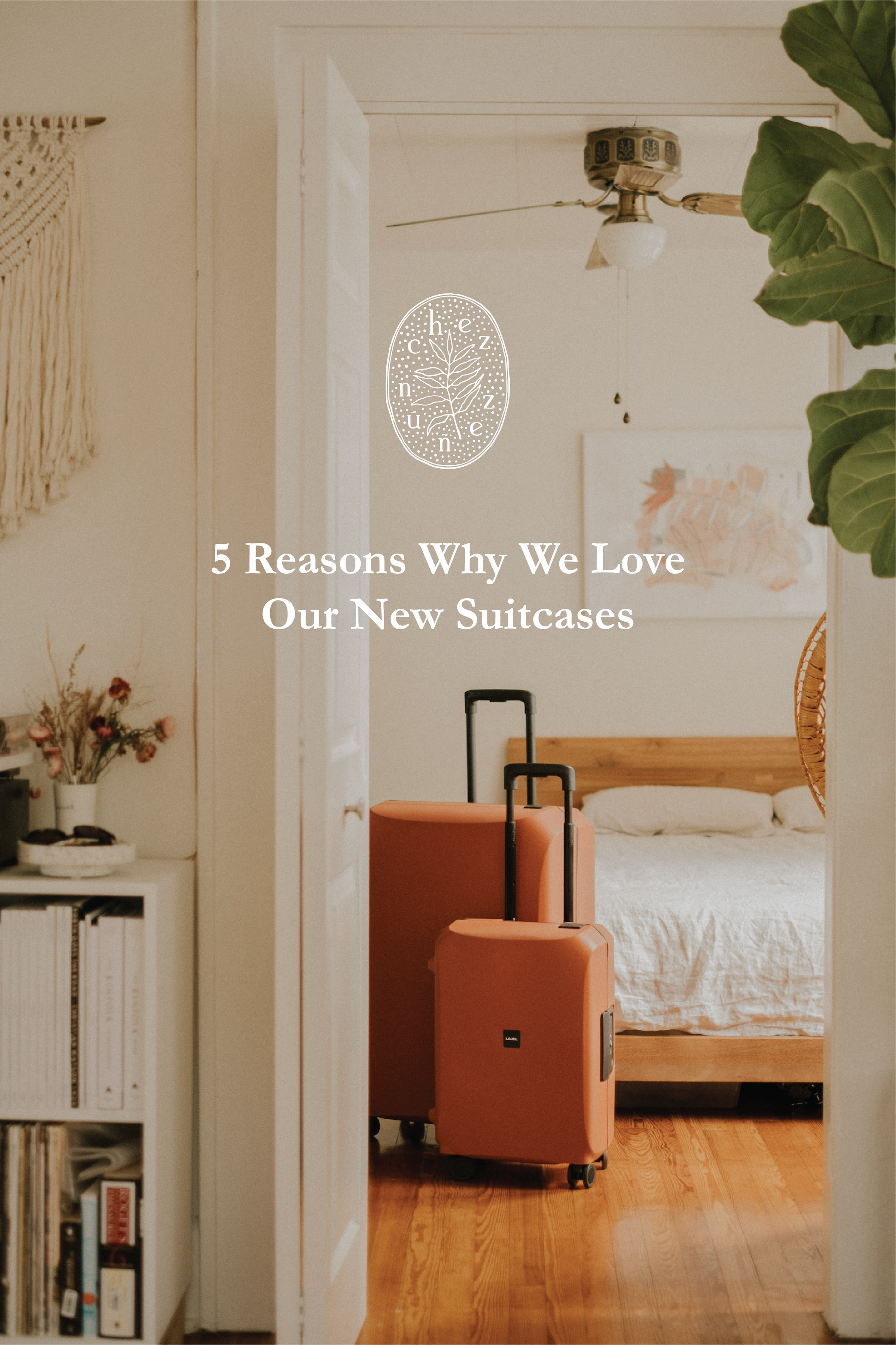 5 Reasons Why We Love Our New Suitcases