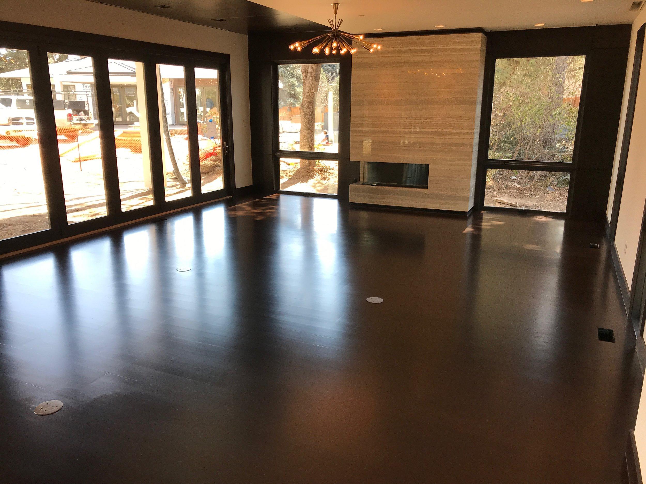 Hardwood Floors - Hardwood floor installations, maintenance, and refinishing.