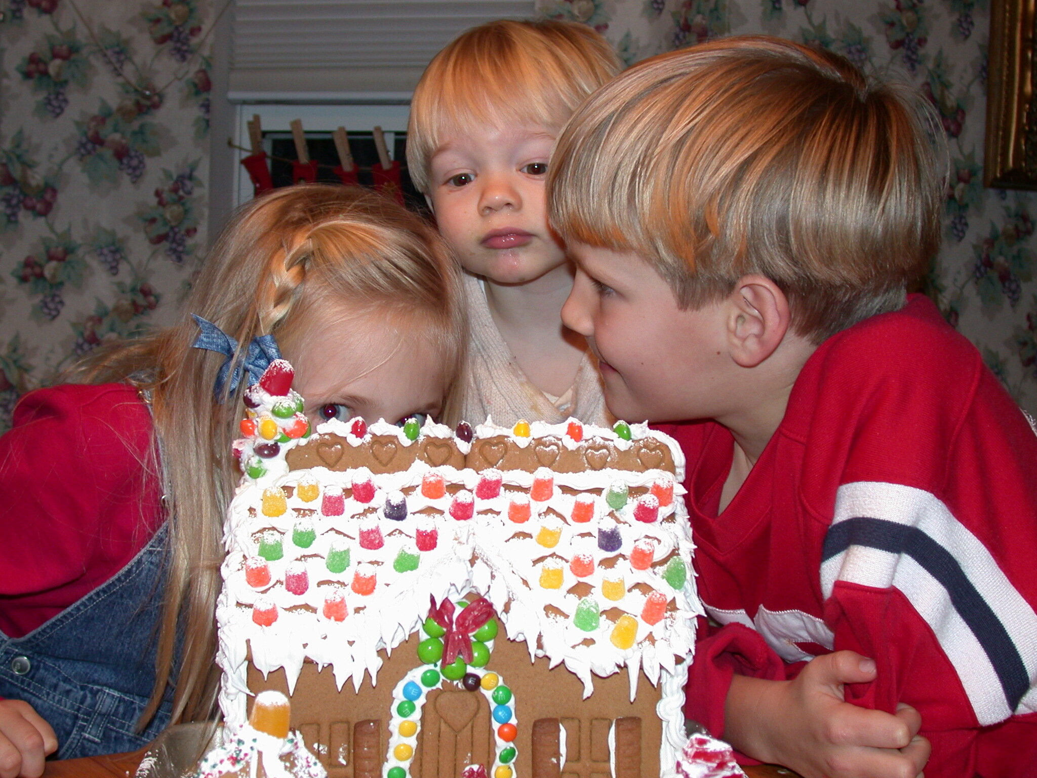 Advent and Christmas Family Memories… - First there were three. How sweet are these babies? Today, they are 24, 21, and 17.