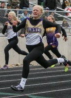 - Brozik finished 3rd in the 100 meters (12.78) but broke the state qualifying standard of 12.8