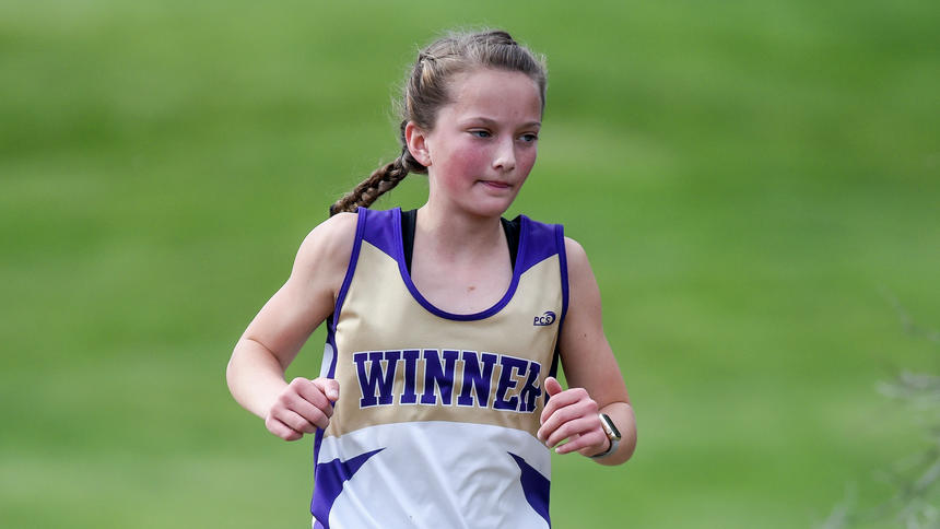 - Winner's Sidda Schuyler finished 2nd in the 1600 and won the 3200 with a time of 12:22