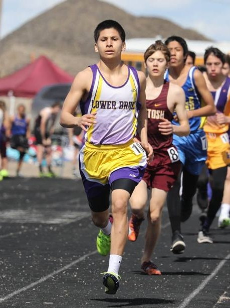 - Lower Brule's Scotty Obago ran a strong season opener in the 1600, finishing third with a time of 5:13