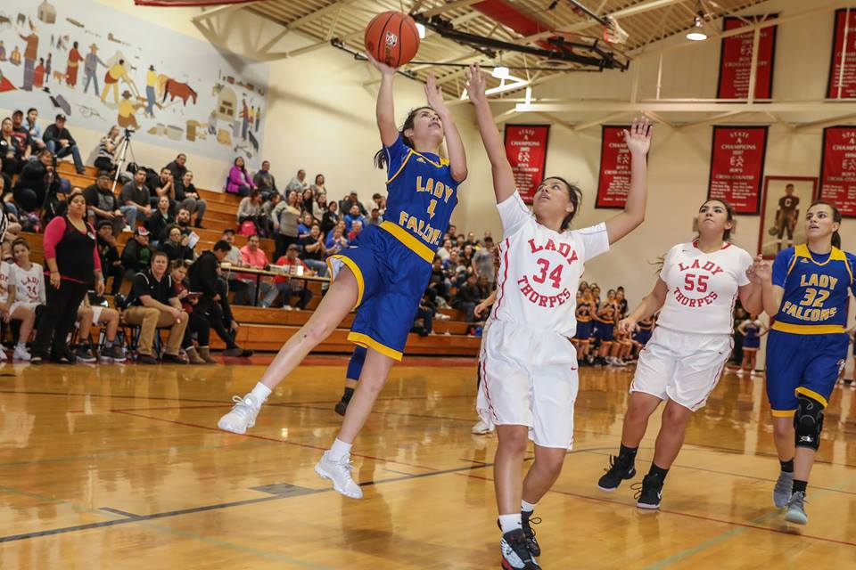 Region 7A TUFF - Three players from Region 7A landed on the Girls All-NATIVE 2nd Team