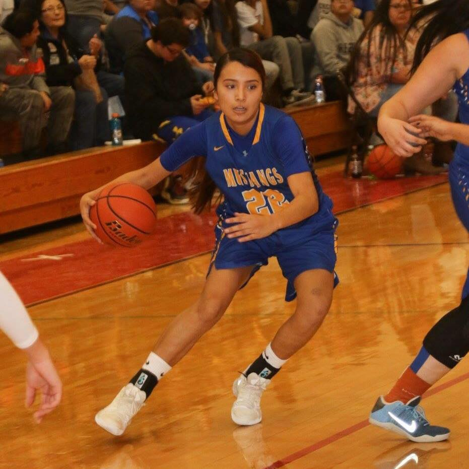 - Little Wound senior Miracle Spotted Bear wrapped up her career at Little Wound by helping the Lady Mustangs to a 12-8 regular season record. A trip to the state tournament her junior year, Spotted Bear helped lead Lyle LeBeaux Jr's squad be competitive against some elite competition.