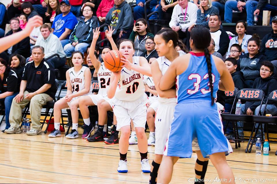 - McLaughlin's Tiara Flying Horse is one of 12 candidates nominated for South Dakota Miss Basketball.
