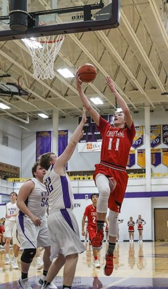 - The only sophomore on the All-Native first team, Luke Wells 11 did a little bit of everything for Billy Joe Sazue's squad. Long arms with the ability to get a lot of defensive deflections. A good rebounder at 6-foot-4, Wells is equally adept at putting the ball on the floor or pulling up for a jumper. Adept with both hands, Wells put on a show against Tea Area in the state tournament with 28 points and 11 rebounds. A terrific passer who makes everyone on the court better with his vision.