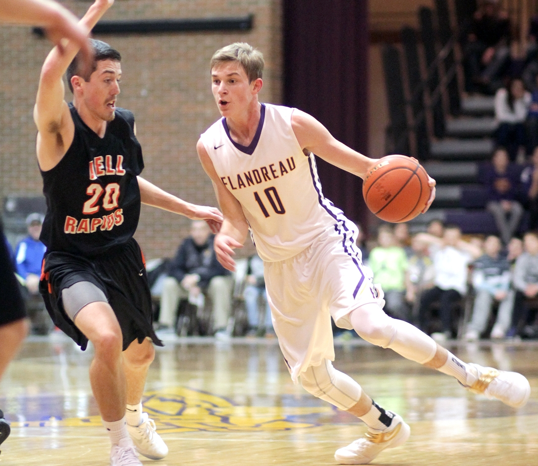 - Flandreau's Dylan LeBrun - 26 points, 11 boards, 4 assists, SCHOLARSHIP to Augustana