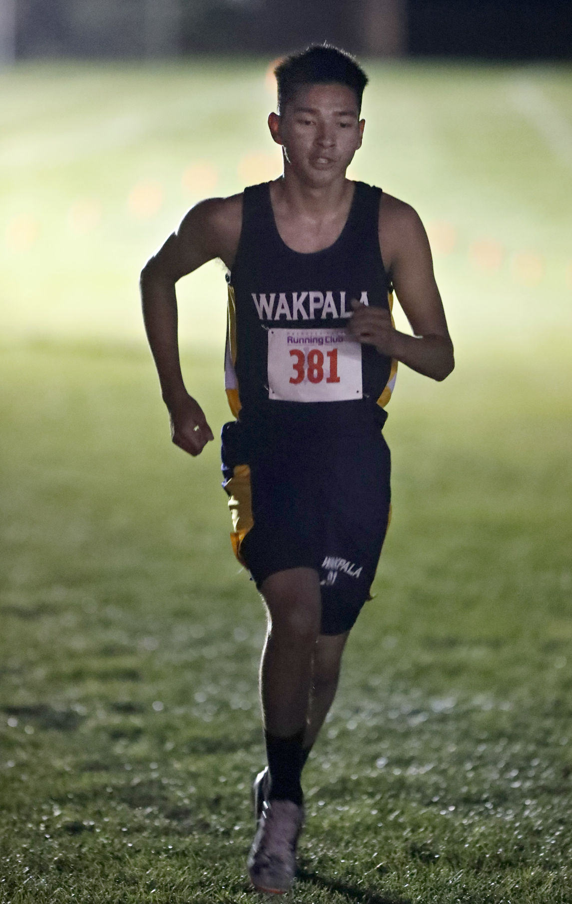 Rhaecine Sam - The Wakpala junior is prequalified in the Class B 1600 and 3200 meters for the Sioux track team.