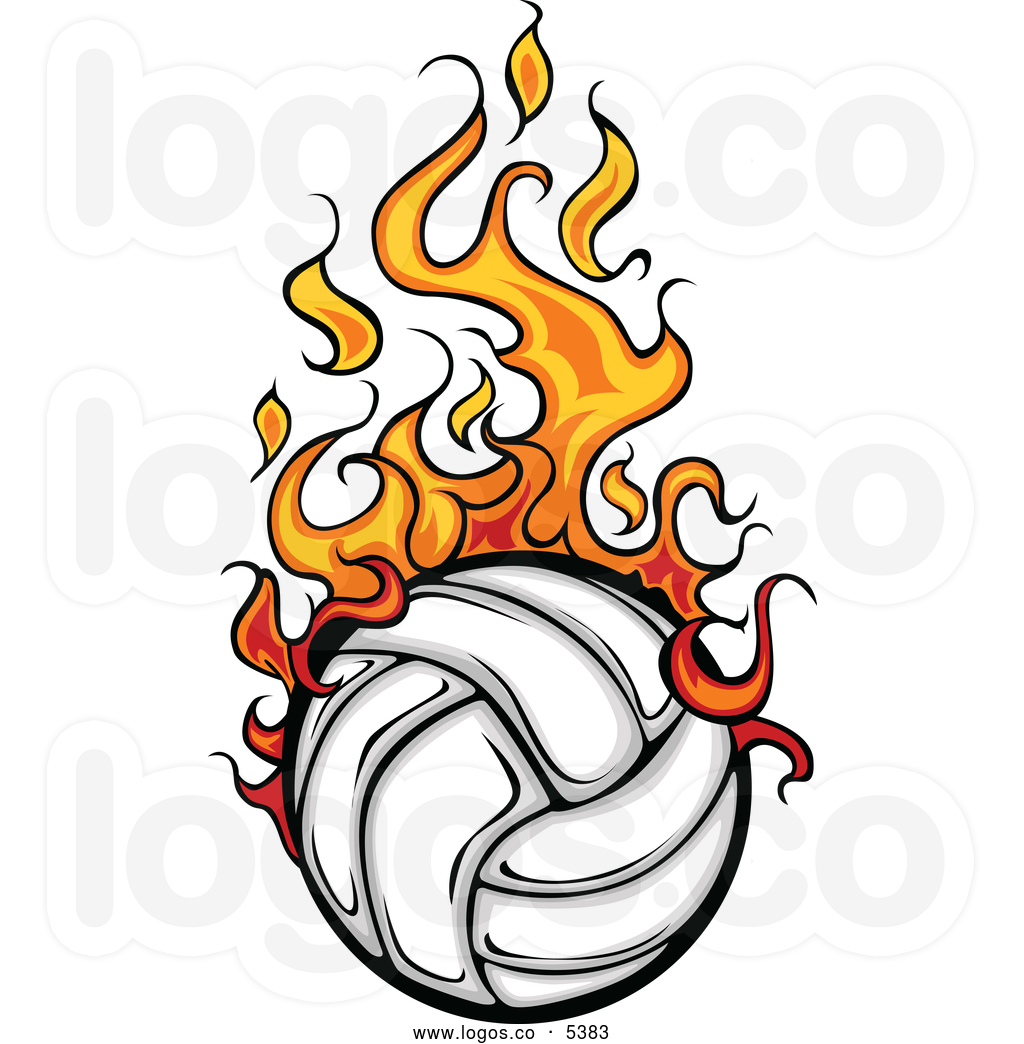 flaming-volleyball-clipart-royalty-free-vector-of-a-logo-of-a-flaming-white-volleyball-by-chromaco-5383.jpg