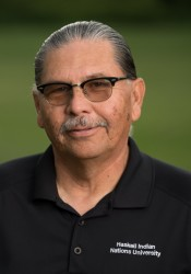- Albert Gipp, Jr., originally from Ft. Yates, North Dakota, is a member of the Standing Rock Sioux Tribe. Mr. Gipp earned his bachelors degree from Augustana College in Health and Physical Education and has over thirty hours of master's level course work in community health from the University of Kansas. He has over twenty-five years of experience in classroom teaching. He currently serves as the head coach for the men's and women's cross country team and coordinates activities for the Jim Thorpe Fitness Center.