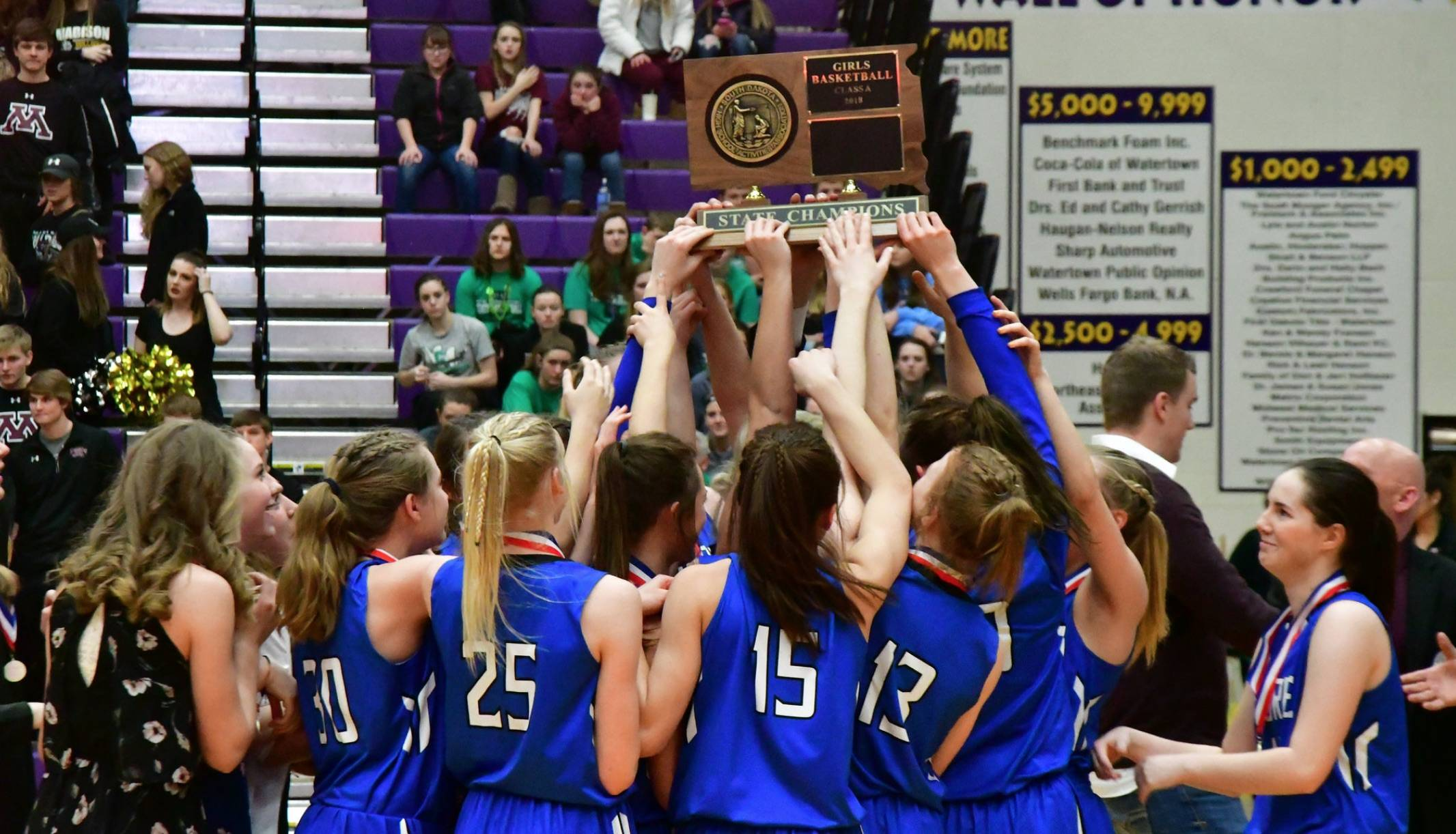 - Has it really been five consecutive Class A state titles for Brandon Kandolin's Lady Cavaliers?Kind of a slow uninspiring start for STM with two wins over Nebraska schools and a 48-37 win over a 3-3 Hill City team, in Hill City. The Madison girls look a little down this year, but that Aberdeen Roncalli game on Saturday night from the Civic Center….that should be a good one.