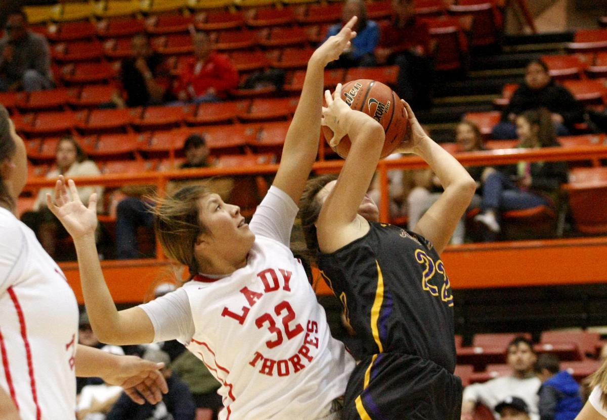 - Another player I feel deserved some all-state attention was Pine Ridge senior Duka Thompson….Every time Thompson took the floor for Laura Big Crow's Lady Thorpes, Thompson competed. She does a little bit of everything…Thompson is a decorated volleyball player and a big-time performer on the court.