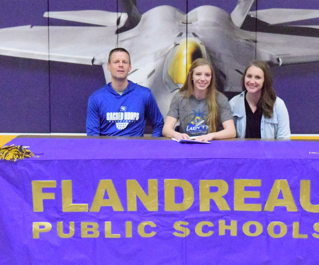 - Not sure if everyone remembers Ashtyn Bertram's signing day.She will continue her academic and athletic pursuits at Dakota State University where she will play basketball AND run track.Bertram's Class A track rankings100 meters: 5th - 12.94200 meters: 4th - 26.55
