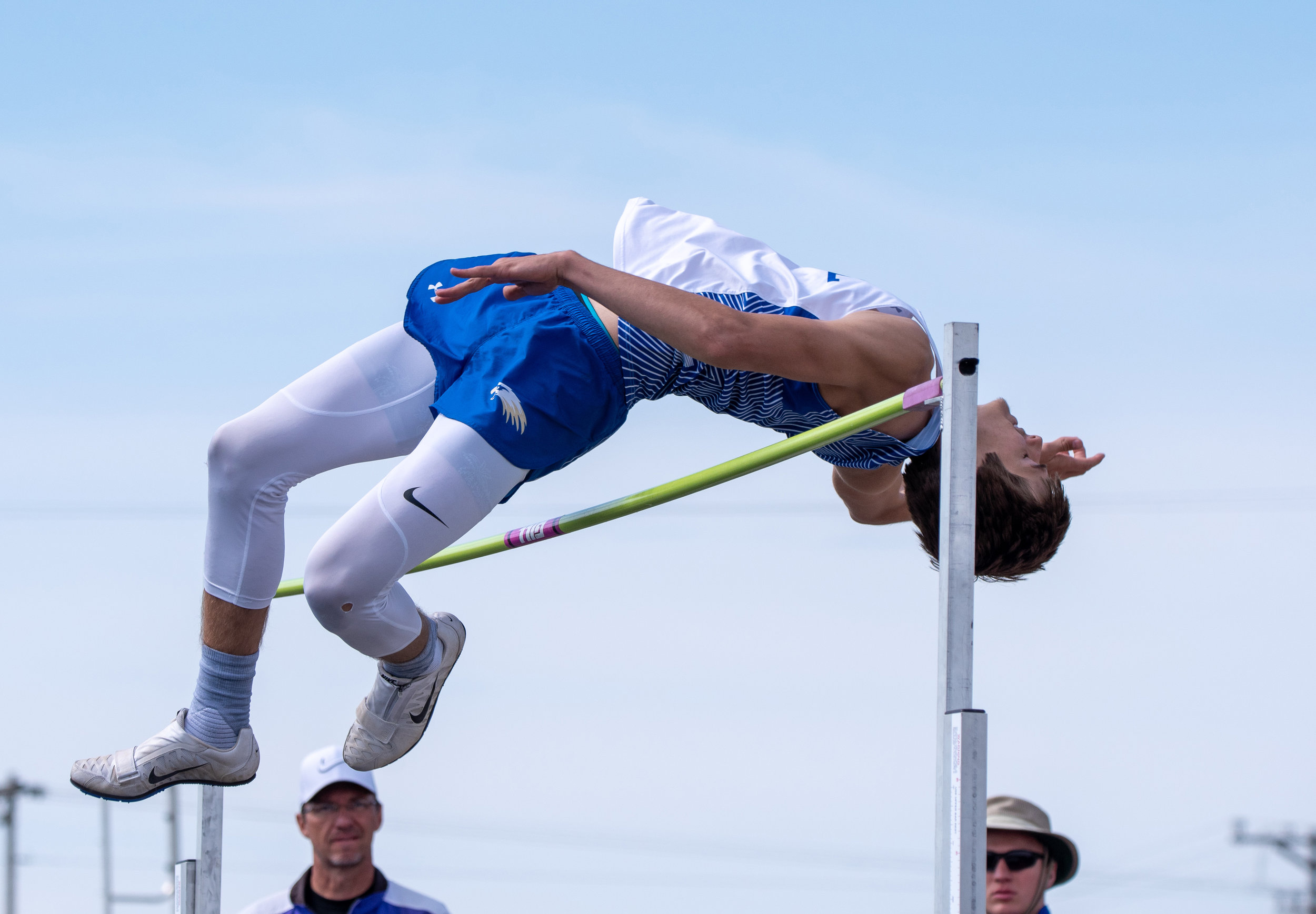- And, senior Jacob Bielmaier has the 6th best high jump in the B ranks….6-feet…He's been very steady and consistent at that height this year…If he can get 6-foot-1 or 6-foot-2 Wall could be getting a big boost from a guy that hasn't done track his entire career.