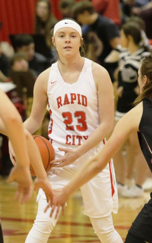 """- This junior point-guard from Rapid City Central had a great summer and is looking forward to the Fall League to sharpen her skills before the season starts.""""The competition was really tough,"""" Heckert said. """"Every week that I went I was pushed beyond what I expected.""""""""It was interesting to play against some girls that I knew, but also, to see new and different competition,"""" Heckert said. """"As a point-guard, I felt like the league sharpened my ball-handling and got my in-game mentality sharp before our regular season ever got started."""""""