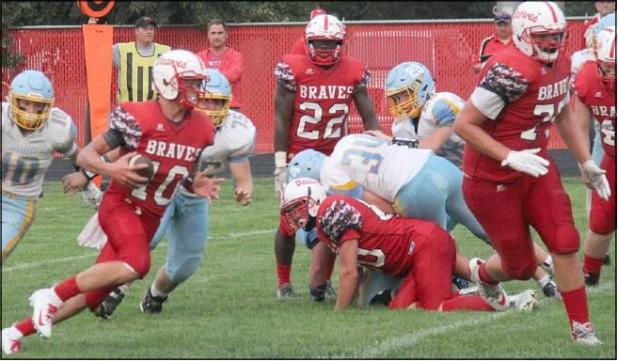 - Guard: Nick Nelson, Britton-Hecla (junior, 6-5, 290). Nelson paved the way for Britton-Hecla's ground attack that finished with 4,038 rushing yards. He was an all-Eastern Coteau Conference selection.