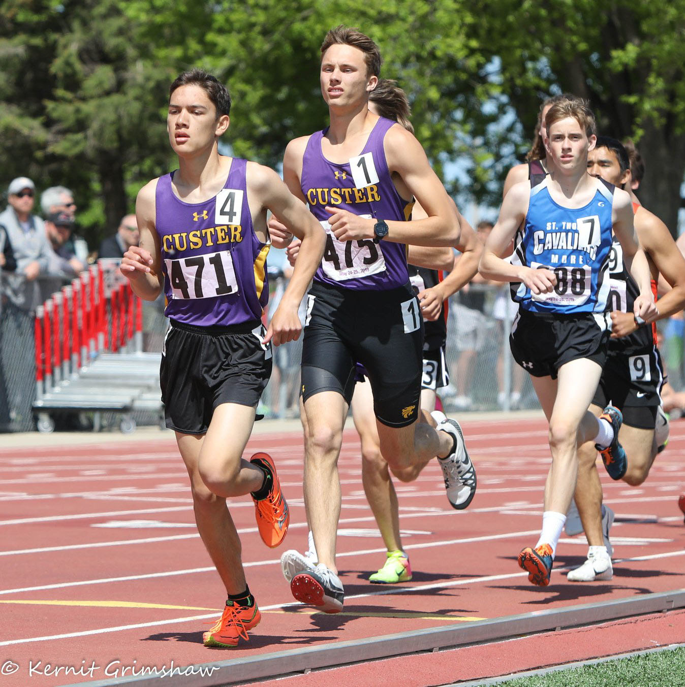 - When the state track meet ended last May every Class A boy into distance running breathed a HUGE sigh of relief.Beresford's Alec Atwood, West Central's Braden Peters and Lennox's Camden Wulf all took their talents to the University of South Dakota.
