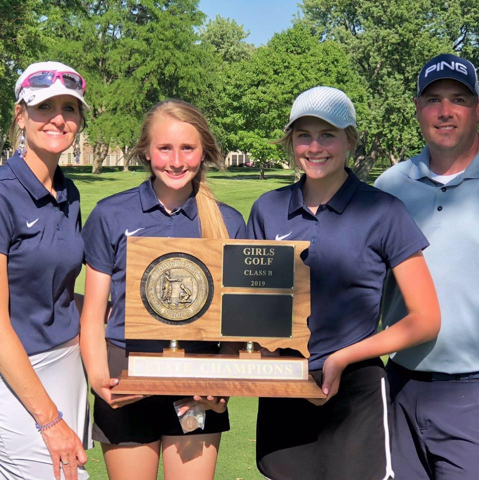 - Last spring the Burke girls golf team hoisted their 2nd-consecutive Class B stage golf title.Billie Jo's daughter, Taylee, was the individual medalist at that meet.