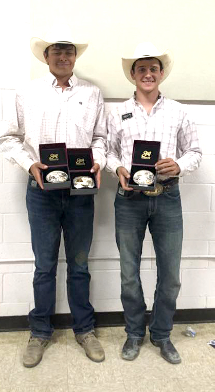 - Saw this picture a while ago and 'meant' to congratulate these two Cowboys on such a great job at the National Finals in Rock Springs, Wyoming this summer.(Always nervous to write about rodeo, feel like I don't know it well enough…BUT)If memory serves, Wynn Schaack was the Reserve, National Champion in Steer Wrestling at the recently completed National Finals Rodeo.A year after winning that National, Saddle-Bronc title, Wilson backed it up with a Reserve, National Champion award this season. Congratulations to these guys and of course the entire Wall community that supports rodeo as well as any small town in South Dakota!