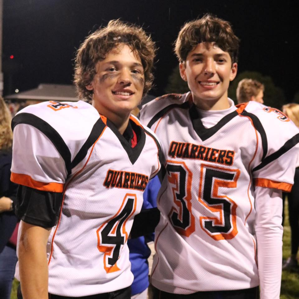 - Pictured at left are Avery and Aiden Boechler from the Dell Rapids football team.On Friday, Aiden Boechler lined up for a pressure filled PAT against Lennox.The Orioles led the entire ball game and the score stood at 6-0 Lennox with just over 30-seconds remaining..With 28-seconds remaining, Coby Maeschen (6-foot-3, 215 lb. junior) plunged over the middle on 3rd & 4 to tie the game at 6-6Enter Aiden Boechler…