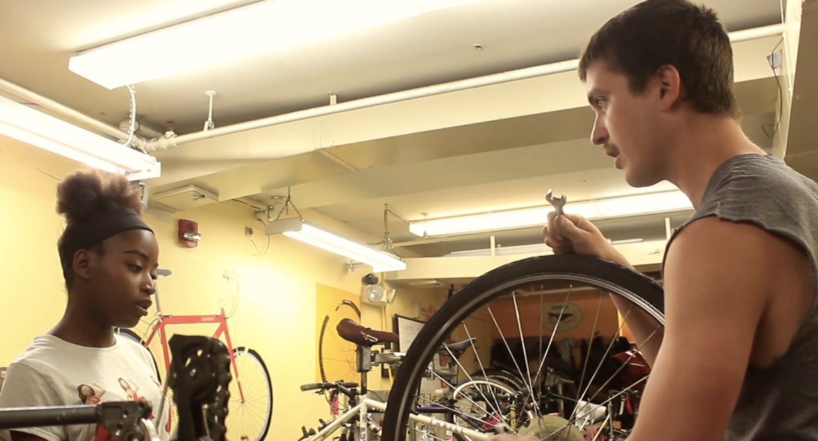 "Watch a video about the Everybody Bikes Program - ""You have the freedom to rely on your own transportation. It was like they put wings on my bicycle."""