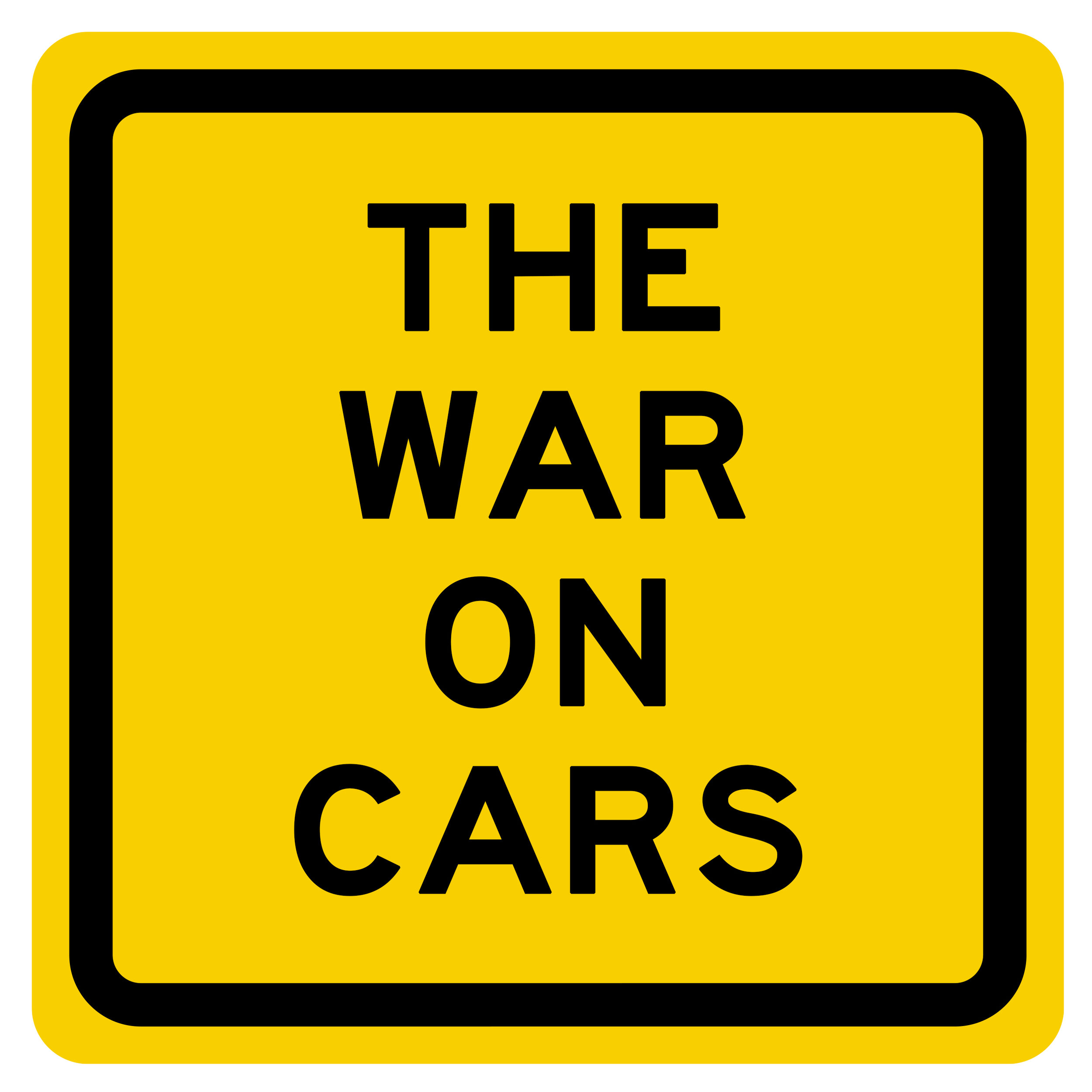 "- ""Why is it that even the most liberal people in the the most progressive places are so often unable to see the problems wrought by personal automobiles?""Listen to this episode of The War on Cars, a new podcast hosted by three New York City journalists/activists; Aaron Naperstek, Doug Gordon, and Sarah Goodyear, who ""deliver news and commentary on the latest developments in the worldwide fight to undo a century's worth of damage wrought by the automobile."""