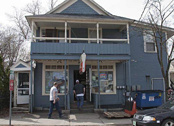 The Henry St. Market, a fixture on Henry St. since 1928, still serves a north end neighborhood. Photo: Julie Campoli