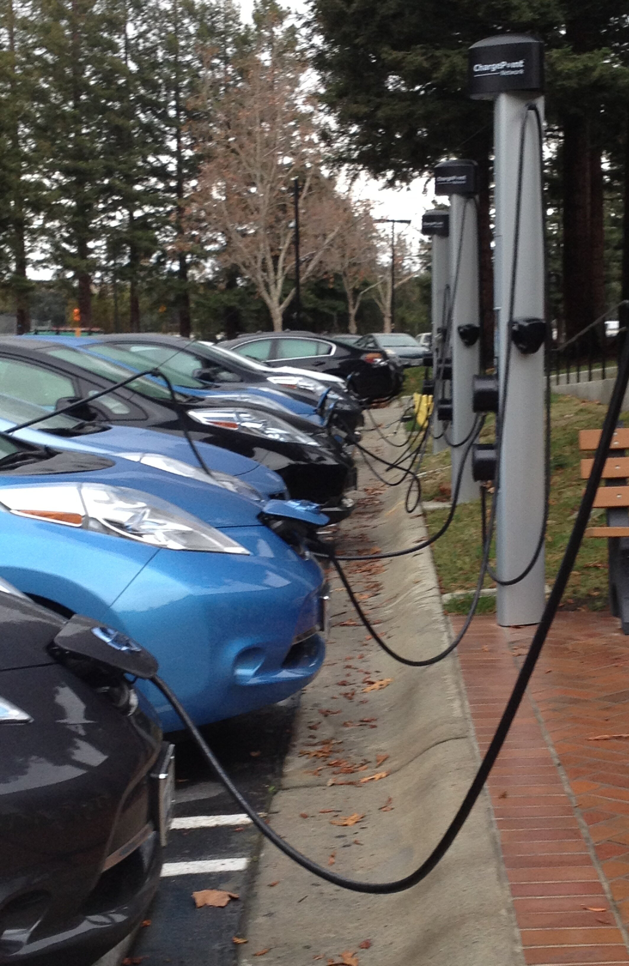 Along with generous subsidies offered to California drivers to purchase EVs has come….more vehicle miles traveled. Photo: Julie Campoli