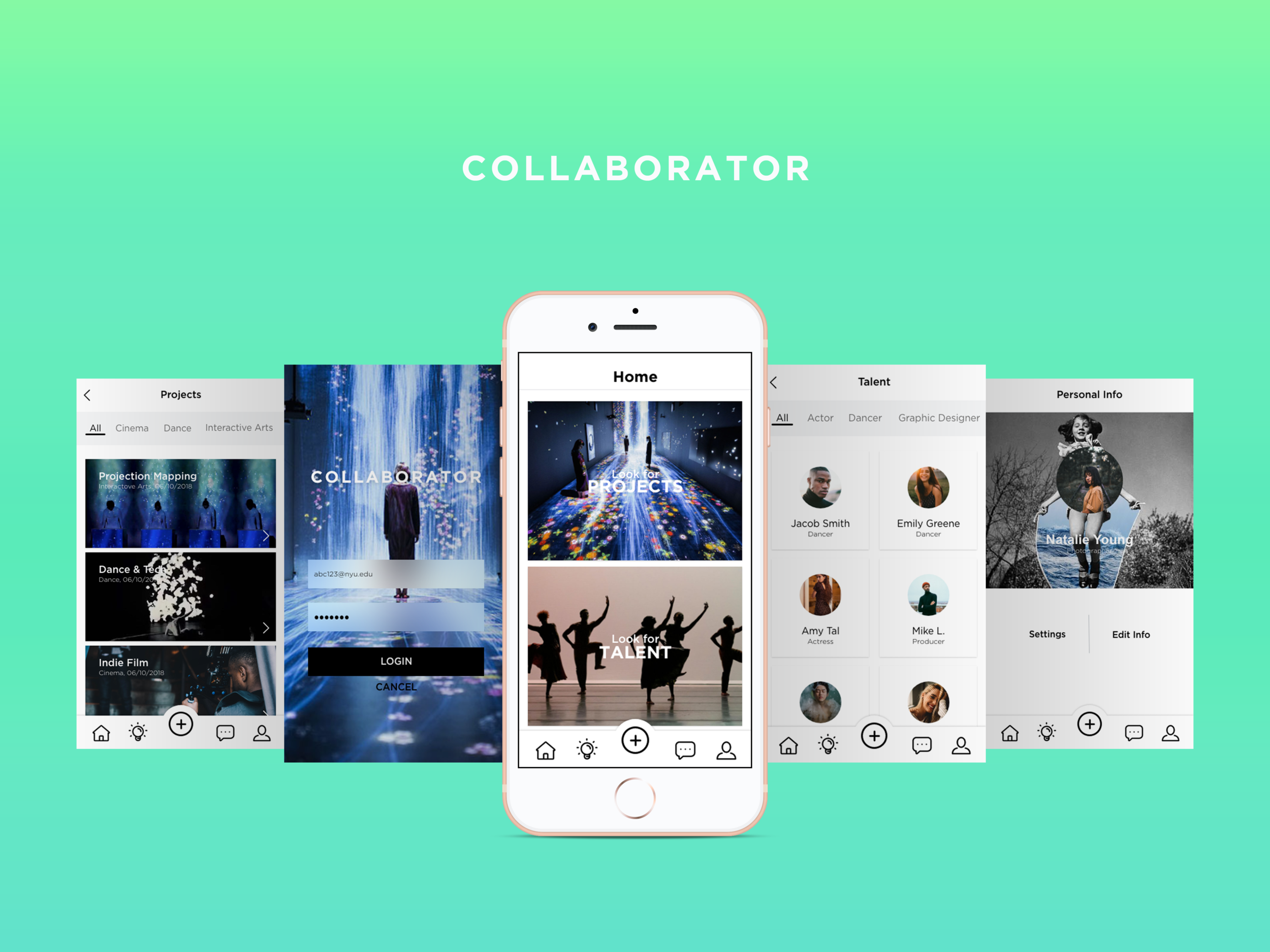 Collaborator - UX | UI DesignAn online platform that fosters student collaboration.