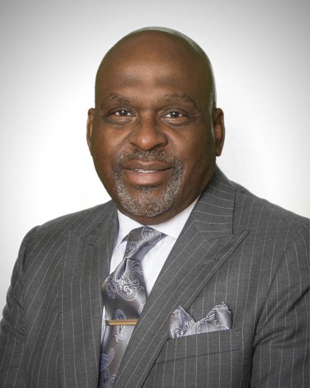Senior Pastor Gene Ellington