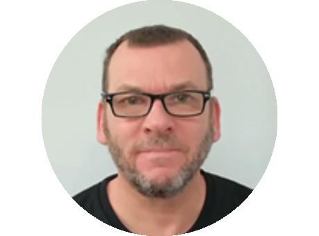Andrew Baker, Robotics technician
