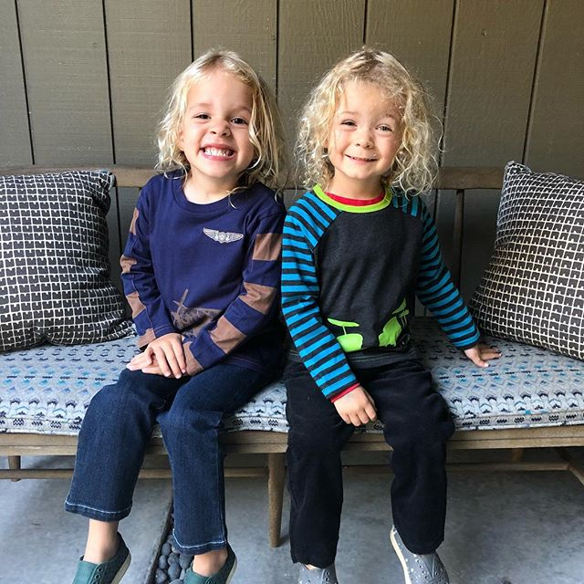 How are my muffins four already? And on their way to riding bikes? Happy birthday to James and Roman! I love these boys with all of my heart 💕