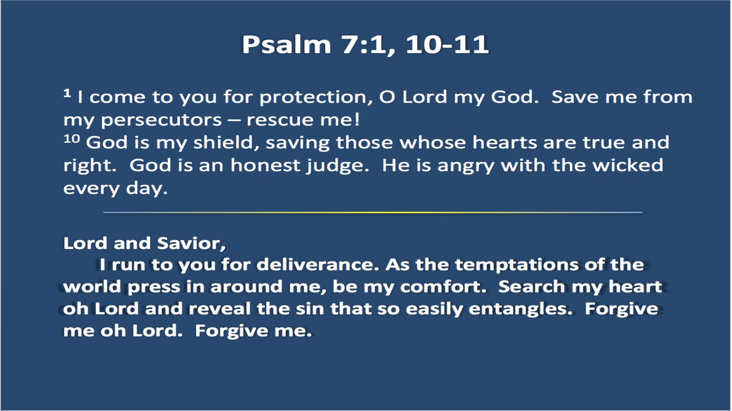 Praying the Psalms — Moses Lake Presbyterian Church