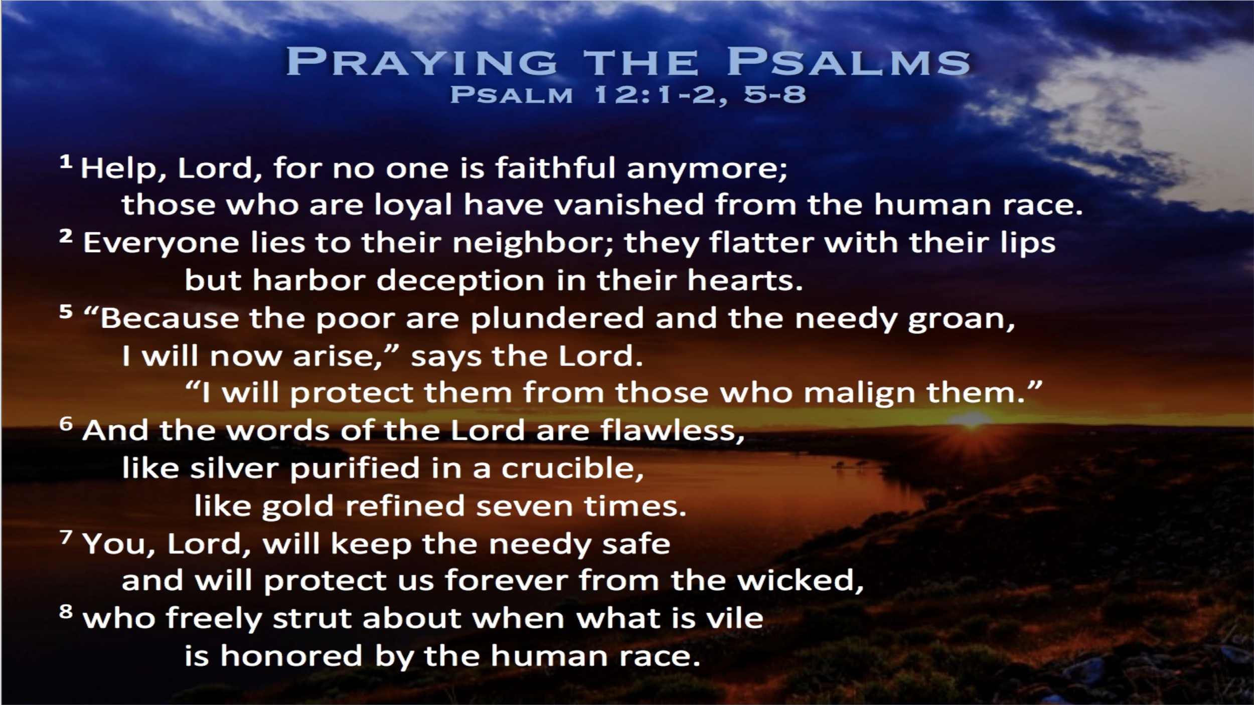 Psalm 12 (Scripture)
