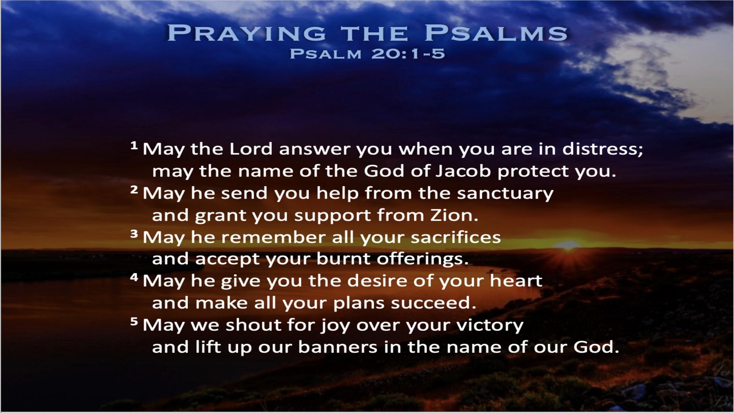 Psalm 20 (Scripture)
