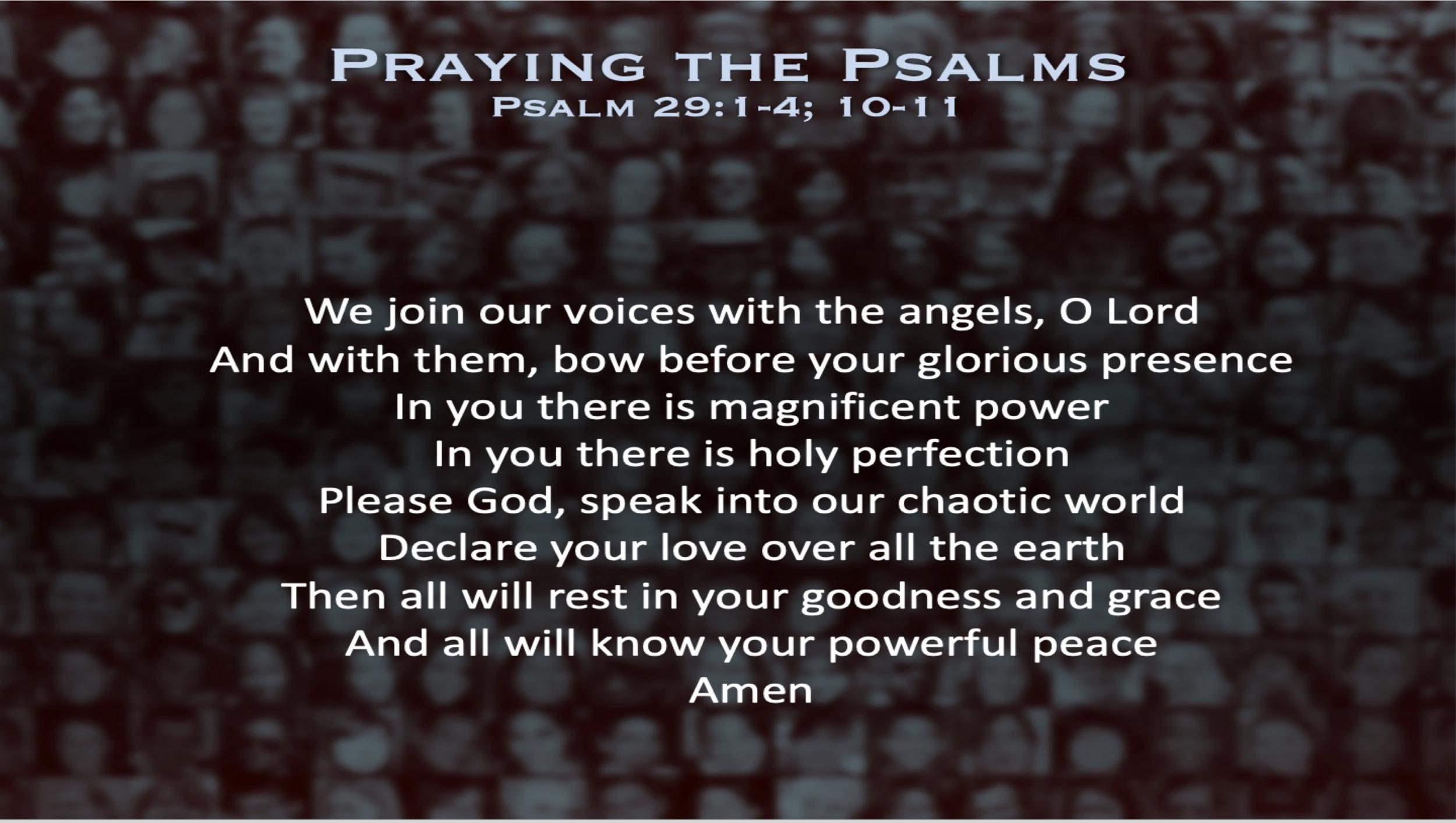 Psalm 29 (Prayer)
