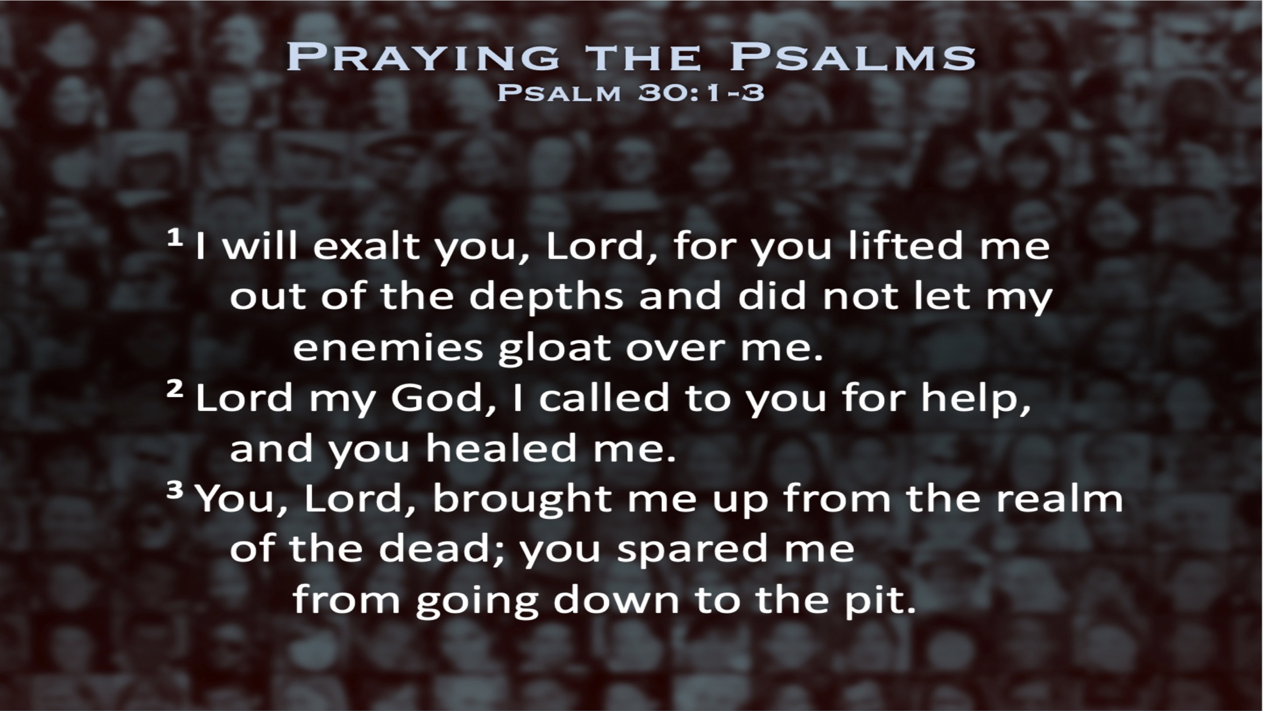 Psalm 30 (Scripture)
