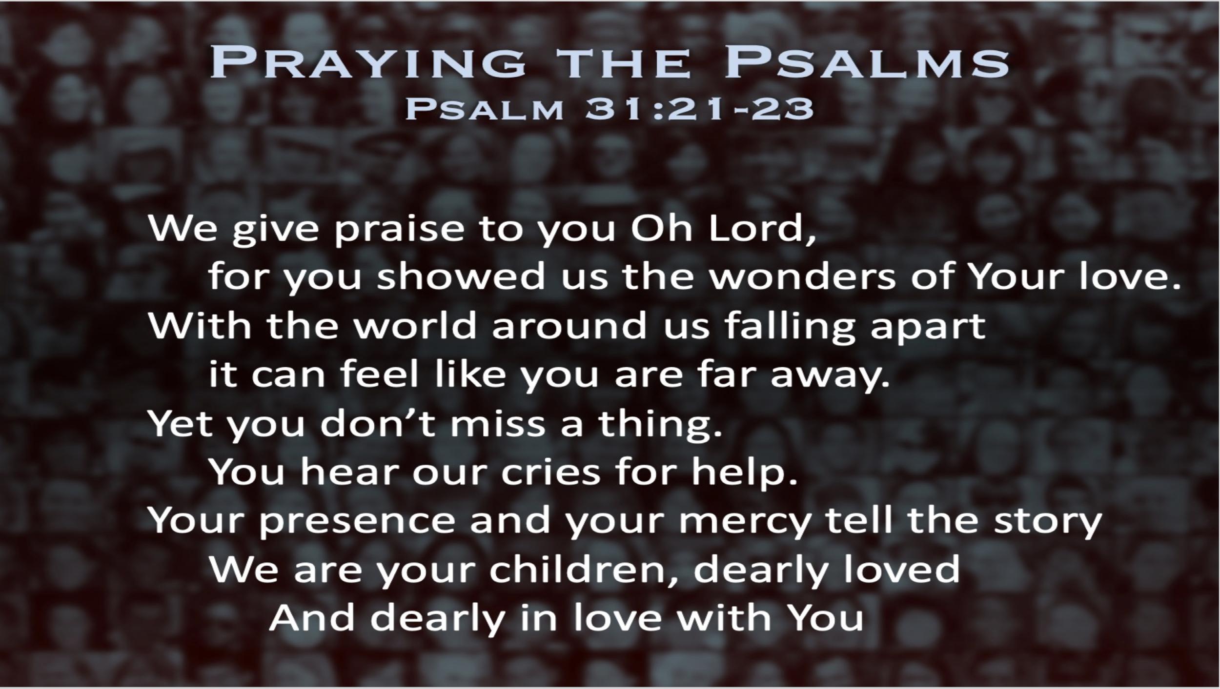 Psalm 31 (Prayer)