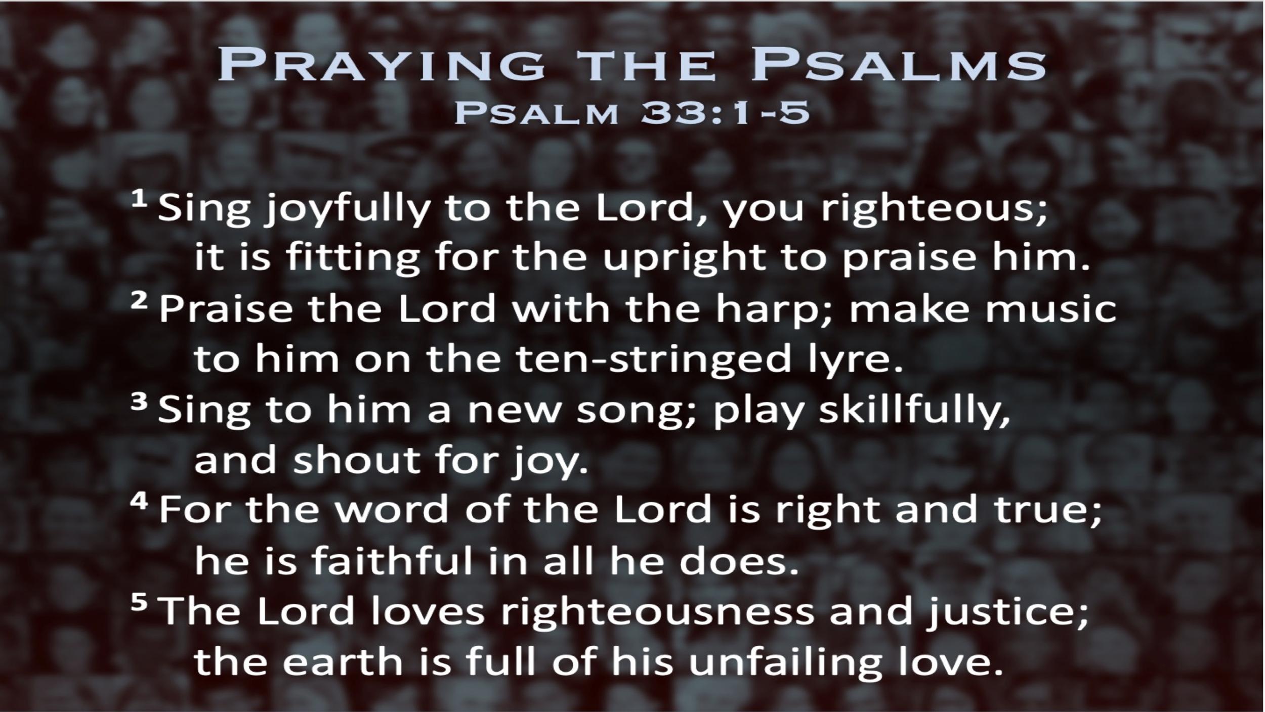 Psalm 33 (Scripture)