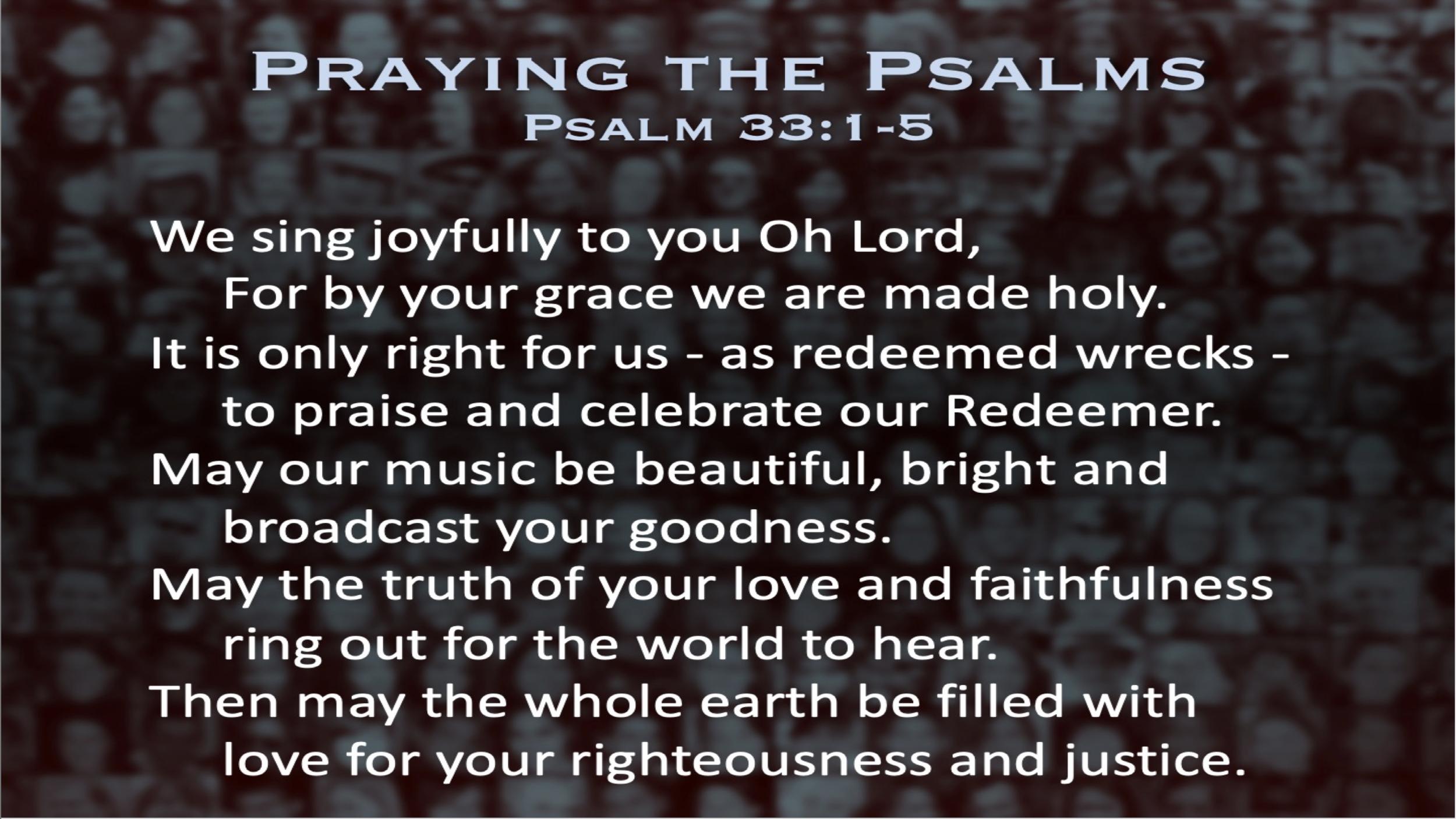 Psalm 33 (Prayer)