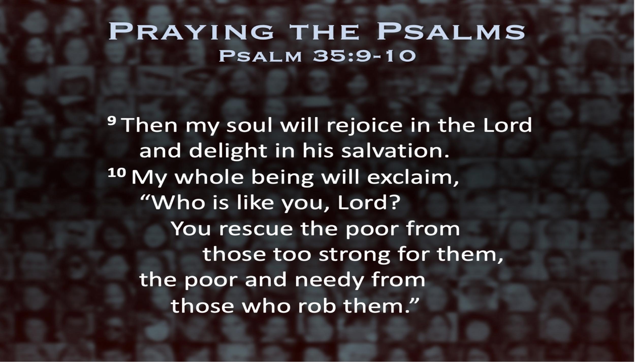 Psalm 35 (Scripture)