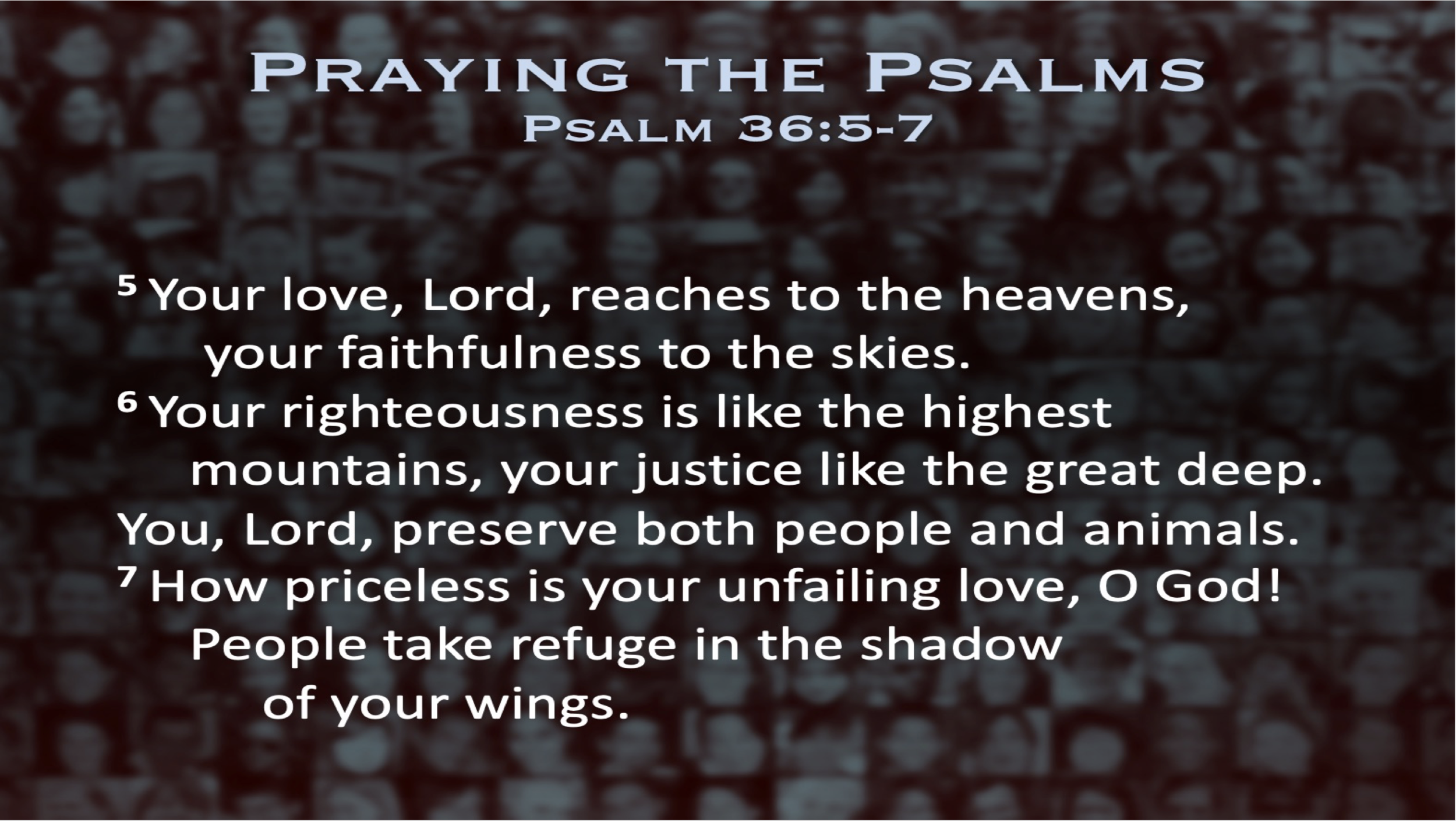 Psalm 36 (Scripture)