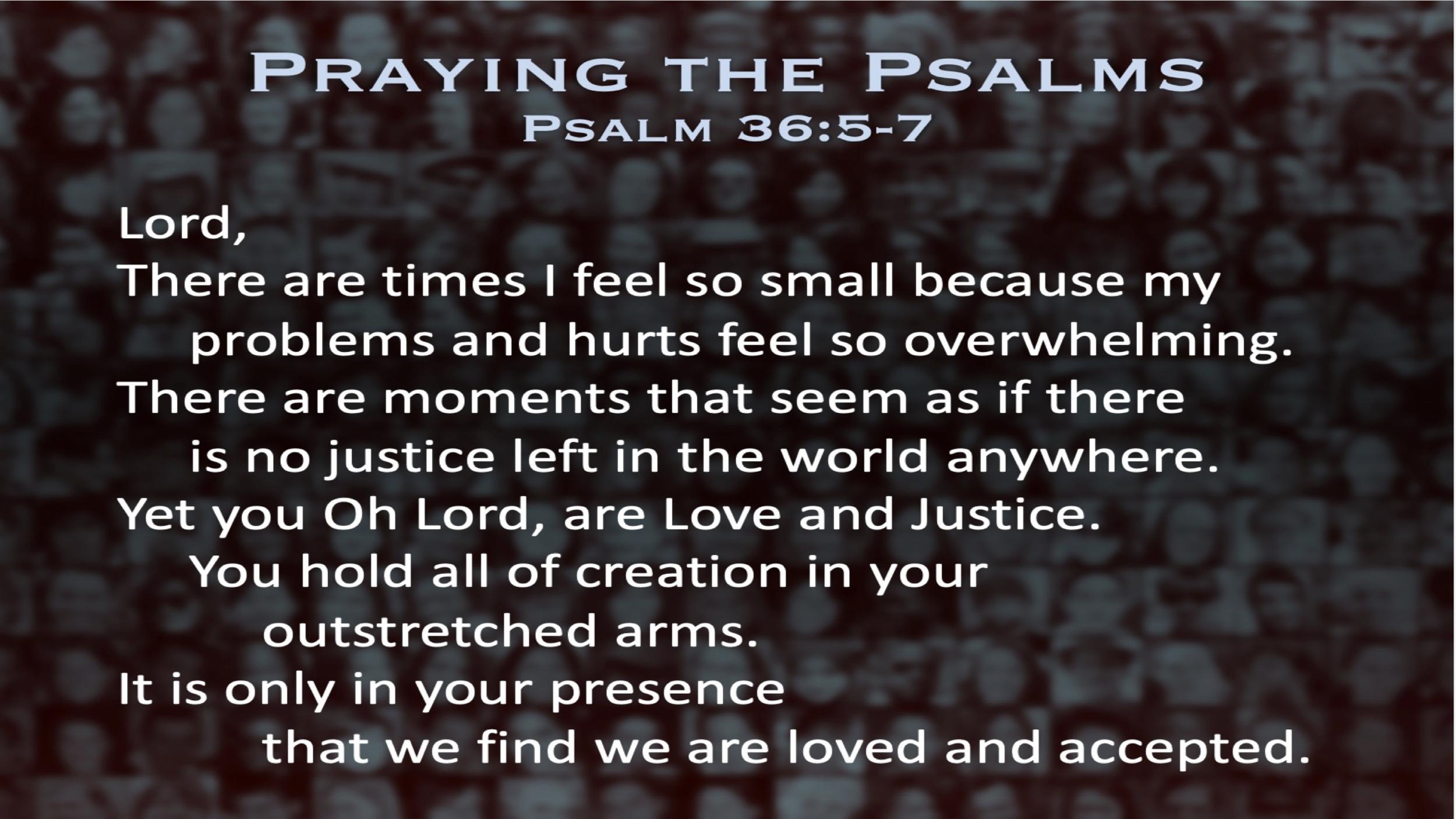 Psalm 36 (Prayer)