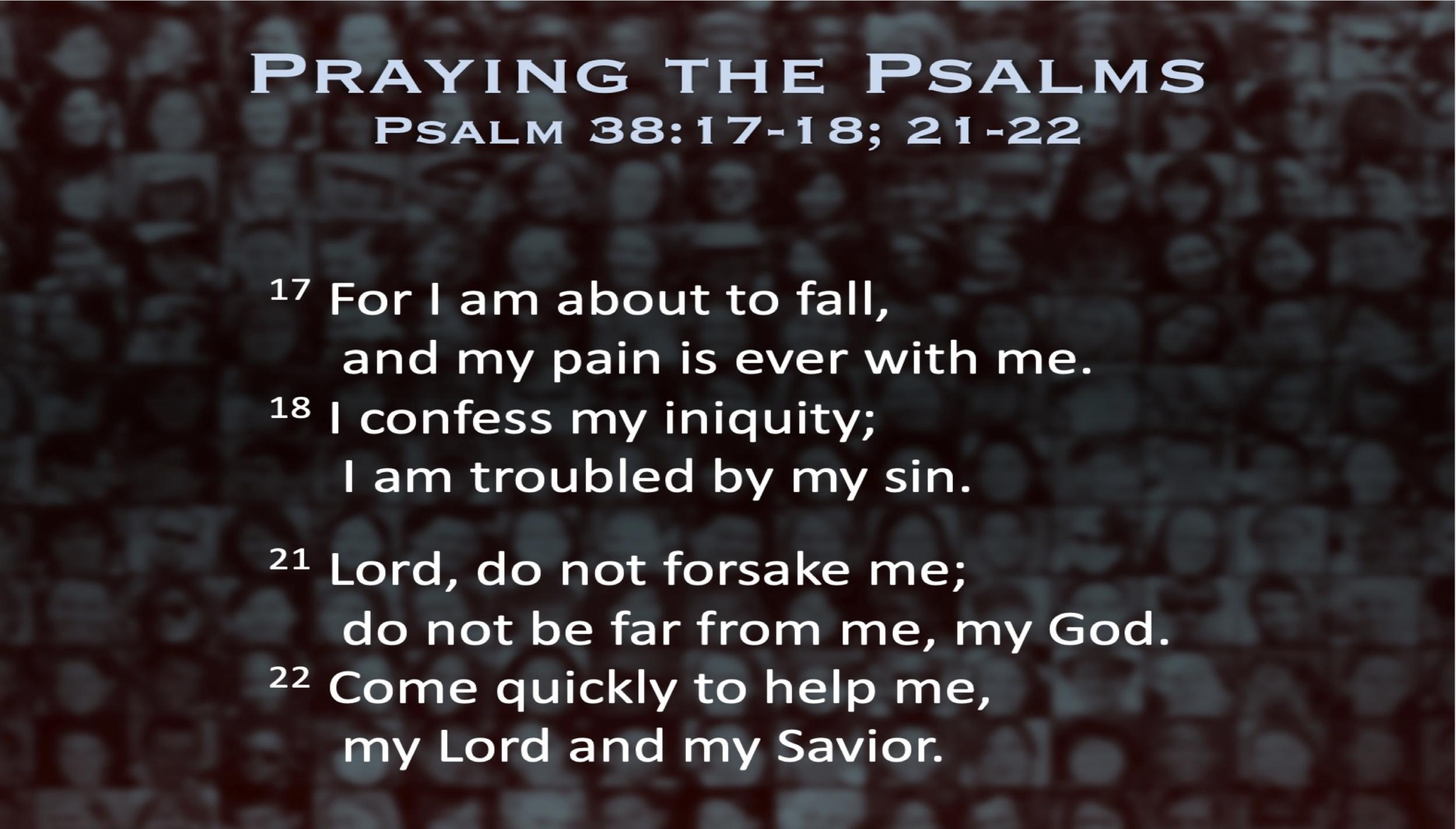 Psalm 38 (Scripture)